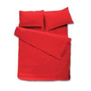 100% כותנה בצבע אדום