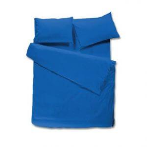 100% כותנה בצבע כחול רויאל