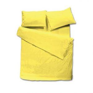 100% כותנה בצבע צהוב