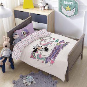 סט למיטת תינוק/מעבר מיני חד קרן
