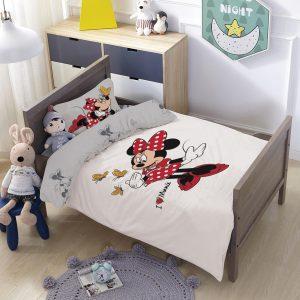 סט למיטת תינוק/מעבר מיני דגם פרפר