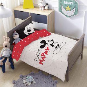 סט למיטת תינוק/מעבר מיקי הפי