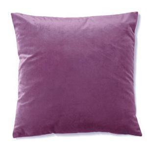 כרית נוי קטיפה בצבע סגול בהיר 20