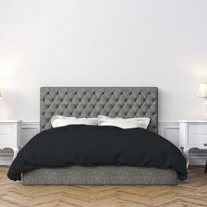 סדין גרזי 140X200 בצבע שחור