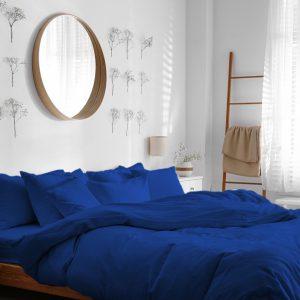 דמוי במבוק בצבע כחול רויאל